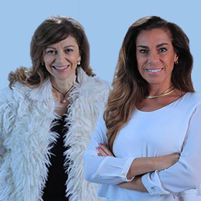 Marla Martins e Marília Rizzon
