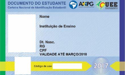 Carteirinha de estudante será confeccionada pela Aergs