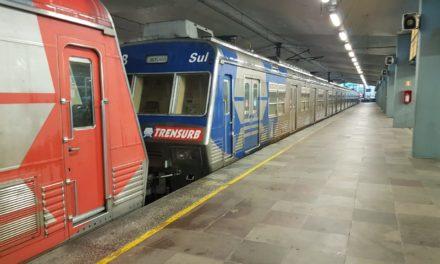 Rompimento de cabo interrompe atividades da Trensurb