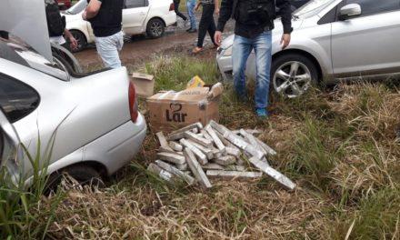 Polícia Civil e PRF prendem três pessoas em Tio Hugo