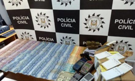 Operação Quebrando a Banca prende homem em Rio Grande