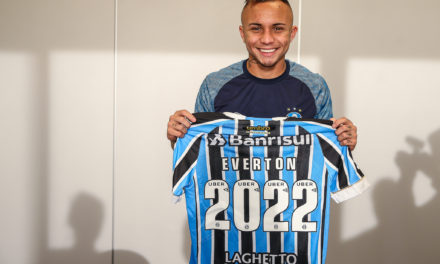 Grêmio renova contrato com Everton até 2022