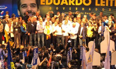 PSDB confirma Eduardo Leite na disputa ao Governo do Estado