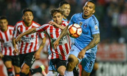 Grêmio perde partida de ida das oitavas de final da Libertadores