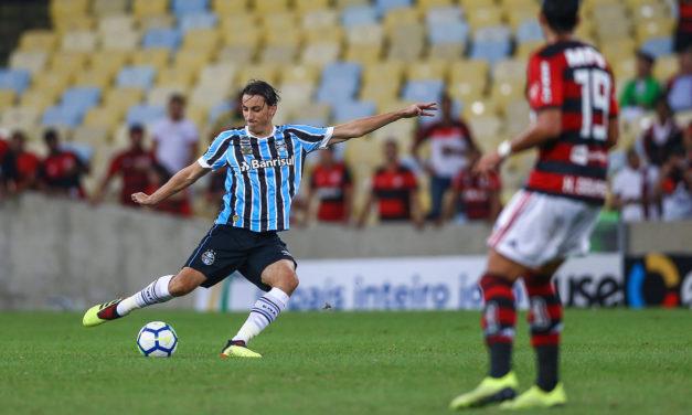 Grêmio perde no Marcanã e está fora da Copa do Brasil