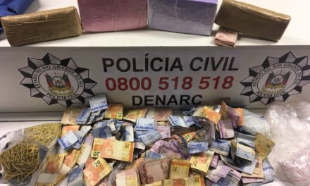 Polícia Civil encontra depósito de drogas na Região Metropolitana