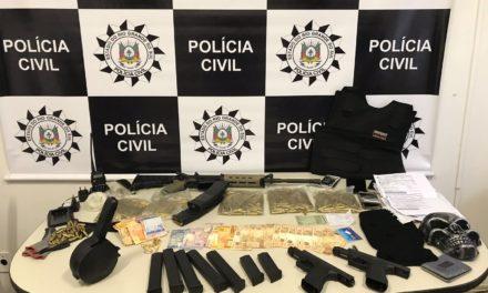 Polícia prende dois homens em Parobé