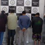 Operação Retomada prende nove pessoas no combate a crimes patrimoniais