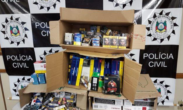 Polícia Civil recupera carga roubada durante ação na Região Metropolitana