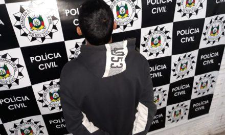 Polícia Civil prende homem acusado de Latrocínio na Capital