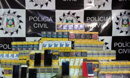 Polícia Civil recupera carga roubada em Alvorada