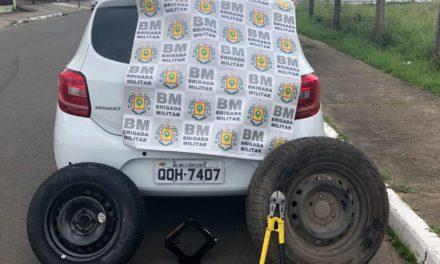 Brigada Militar prende dois homens por receptação em Cachoeirinha