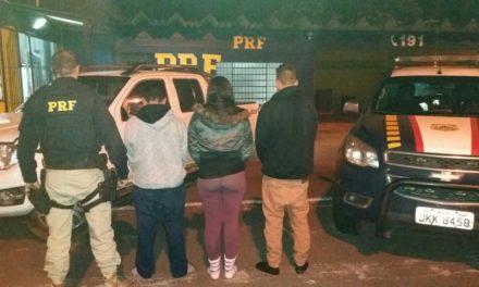 PRF recupera veículo roubado em Montenegro