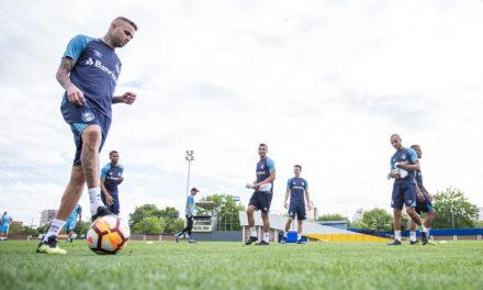 A escalação do Grêmio para o jogo contra o River
