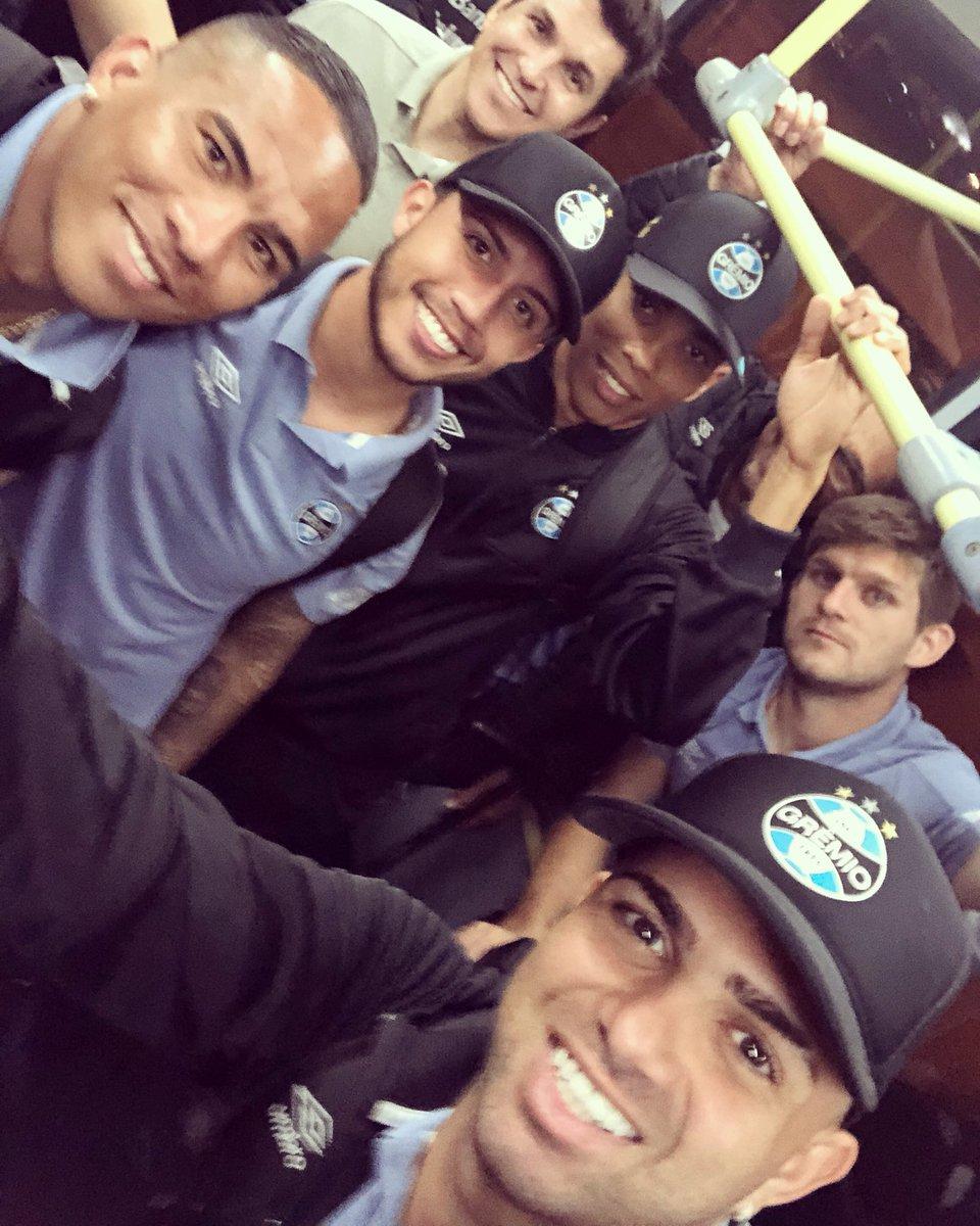 712c17e927 Luan embarcou para a Argentina com o time do Grêmio - RDCTV - Rede Digital  de Comunicação