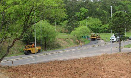 Travessia Urbana de Santa Maria – RS: DNIT pavimenta alças de acesso ao viaduto da rodoviária