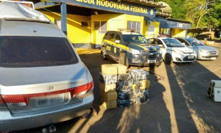 PRF prende três pessoas e apreende mais de 270kg de maconha em Lajeado