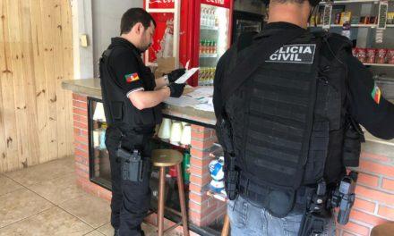 Polícia Civil deflagra a Operação Jaguarão em cidades do Rio Grande do Sul