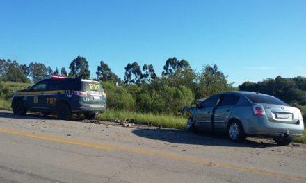 Homem morre em acidente na BR 293 em Pinheiro Machado