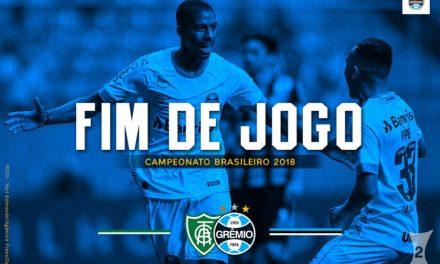 Reservas do Grêmio empatam com América-MG