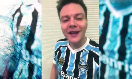 Grêmio divulga vídeo com Michel Teló