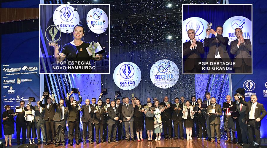 Em noite de premiação, municípios gaúchos comemoram reconhecimento a bons projetos