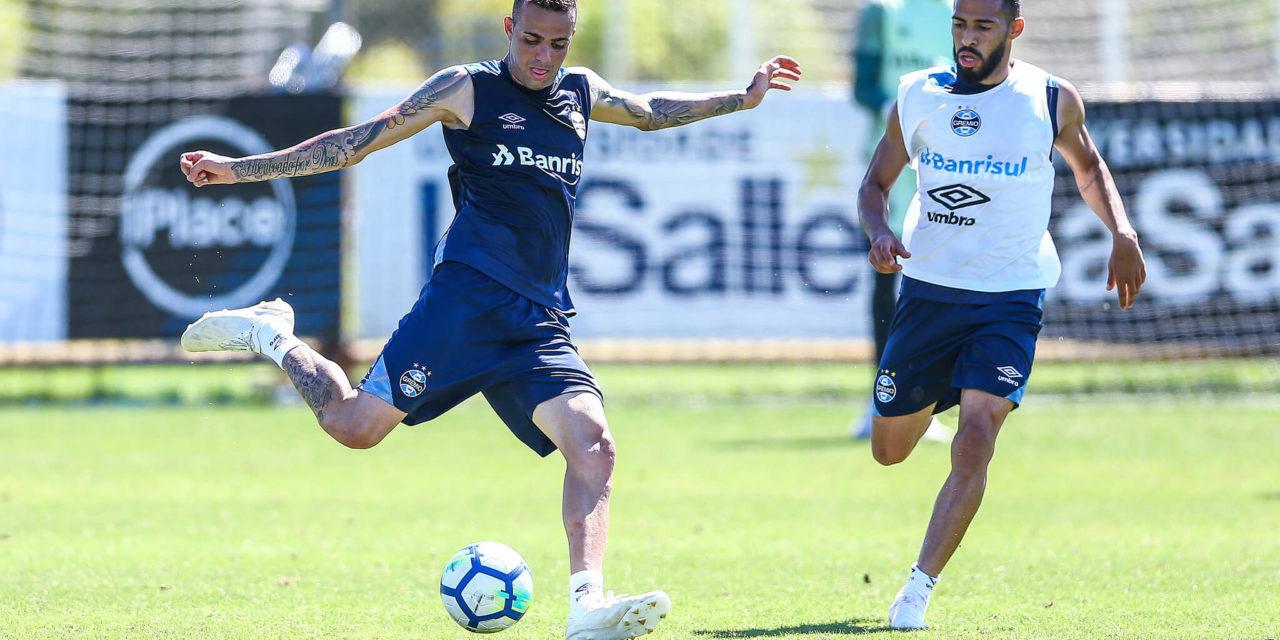 Luan voltou aos treinos no Grêmio - RDCTV - Rede Digital de Comunicação e800e31591a8f