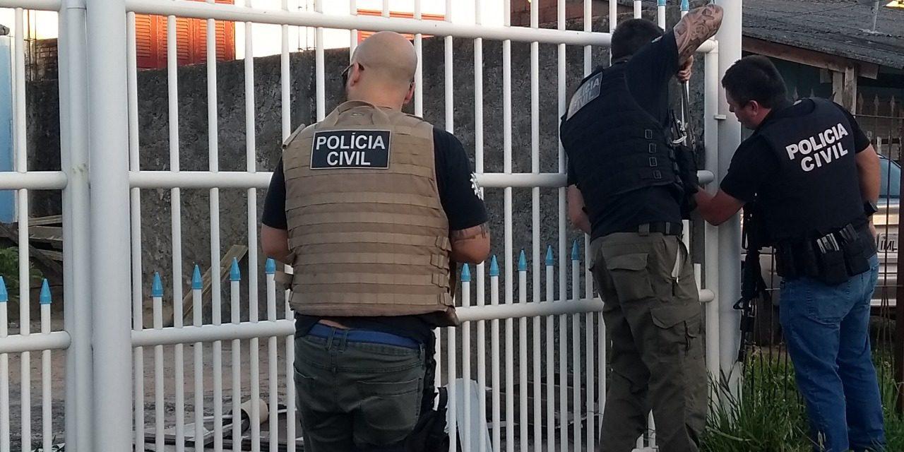 Polícia Civil deflagra a Operação Barreiros em municípios do Rio Grande do Sul