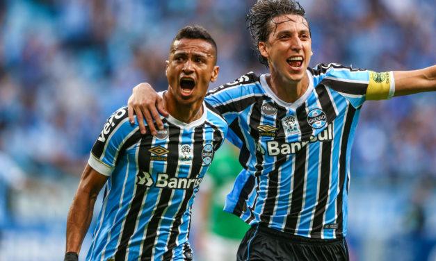 Grêmio vence a Chapecoense e está matematicamente na Libertadores