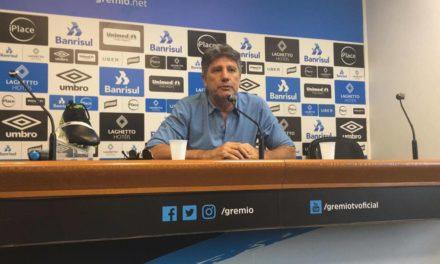 No Grêmio, Renato encontrou o prazer de ser treinador