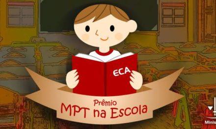 Xangri-lá e Imbé vencem etapa nacional do Prêmio MPT na Escola 2018 nas categorias Música e Poesia