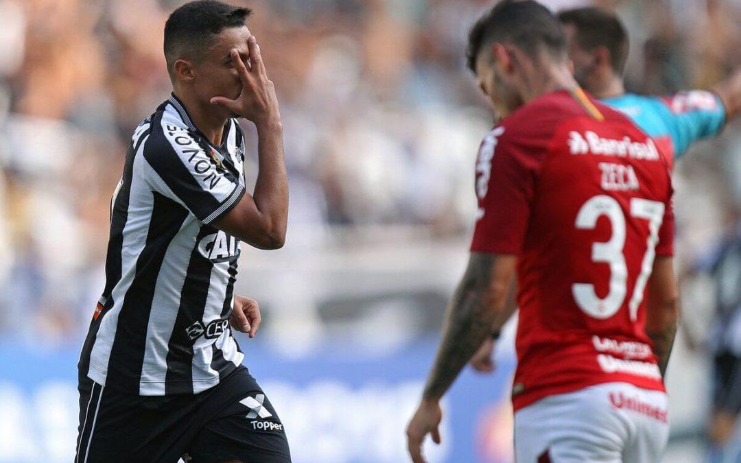Inter perde jogo, segunda posição e a chance de se aproximar do Palmeiras