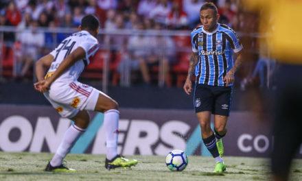 Grêmio empata com o São Paulo e permanece no G-4