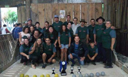 Campeonato municipal de bocha reúne mais de 120 atletas em Dilermando de Aguiar
