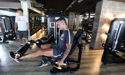 Inter precisou treinar em Fortaleza