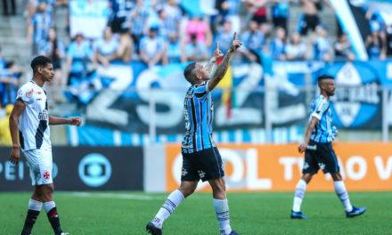 Grêmio vira contra o Vasco e está no G-4