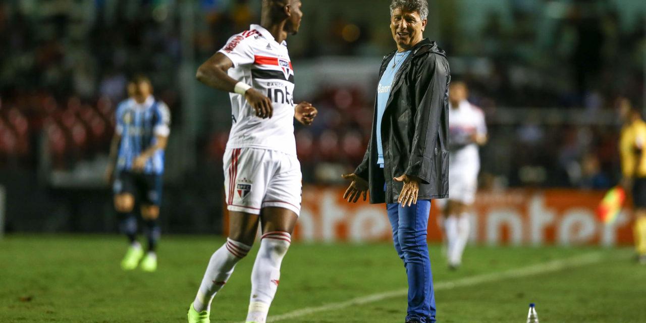 Renato aprovou o empate e falou sobre a sua renovação