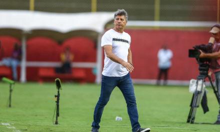 Para Renato, faltou tranquilidade ao Grêmio