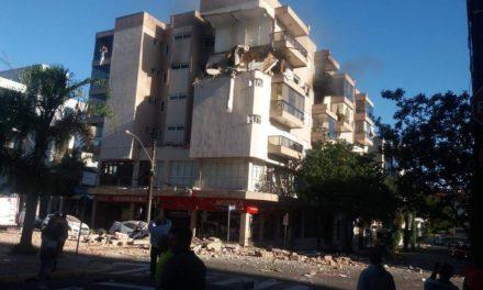 Explosão em apartamento assusta moradores no Centro de Farroupilha