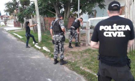 Operação de combate a homicídios prende oito pessoas em Osório