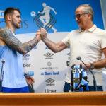 Dirigente do Grêmio esclareceu dúvidas da imprensa