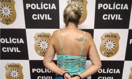 Mulher é presa após simular o próprio sequestro