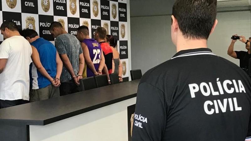 Operação Fechamento prende seis pessoas na Capital e região metropolitana