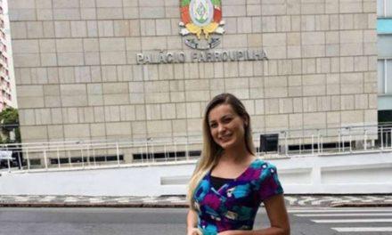Assessora na Assembleia Legislativa, Andressa Urach defende a chance de reabilitação