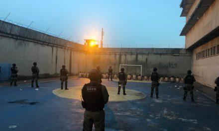 Operação Pente Fino combate entrega de materiais por drones na PASC