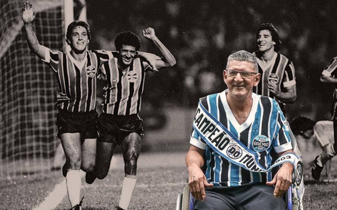 Morre Caio, atacante campeão da América e do Mundo com o Grêmio