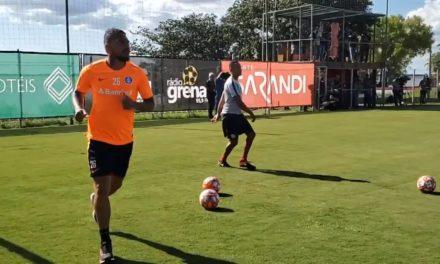 Guerrero começou sua preparação para voltar aos gramados pelo Inter
