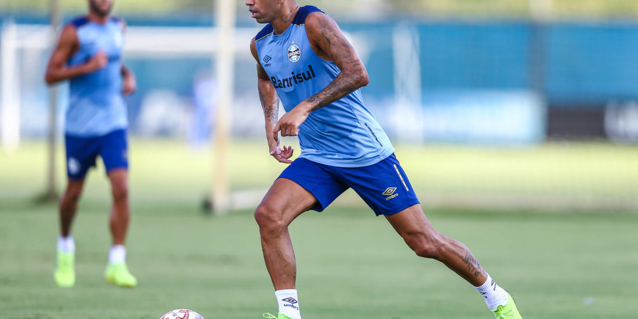 Tardelli revela em qual posição prefere jogar no time do Grêmio