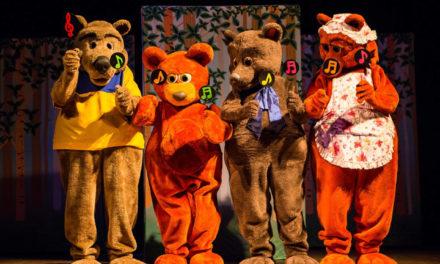 Teatro Renascença terá espetáculo Urso com música na barriga