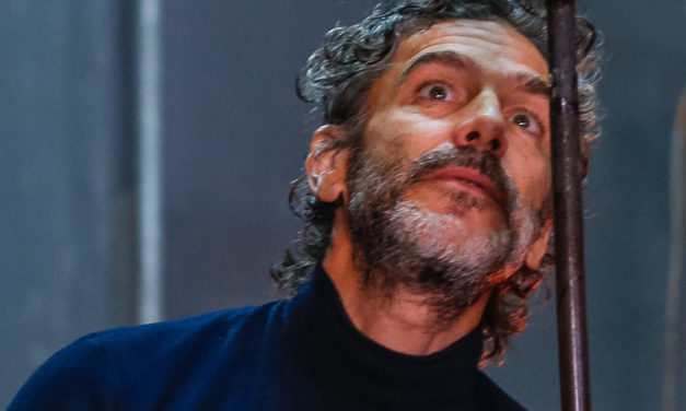Leonardo Sbaraglia e o Kikito de Cristal